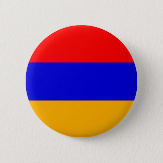 Armenia Flag; Armenian 2 Inch Round Button
