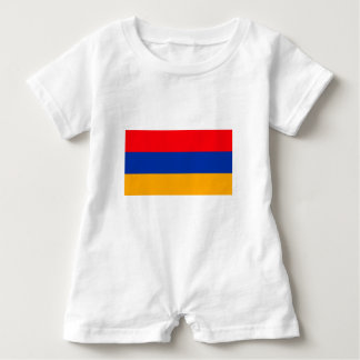 Armenia Flag Baby Romper