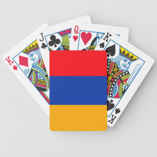 Armenia Flag Bicycle Playing Cards