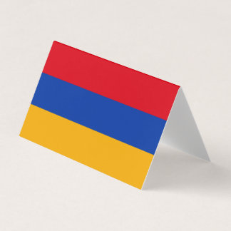 Armenia Flag Card