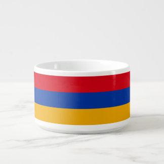 Armenia Flag Chili Bowl