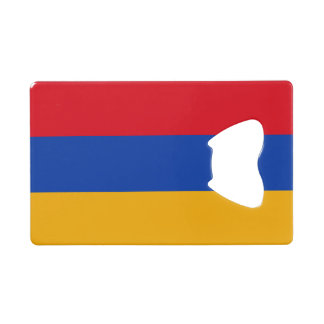 Armenia Flag Credit Card Bottle Opener