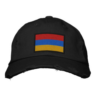 Armenia Flag Embroidered Hat
