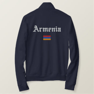 Armenia Flag Embroidered Jacket