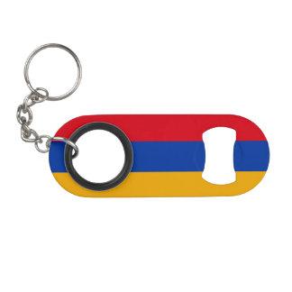 Armenia Flag Keychain Bottle Opener