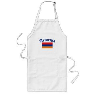 Armenia Flag Long Apron