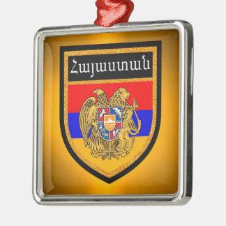 Armenia Flag Metal Ornament