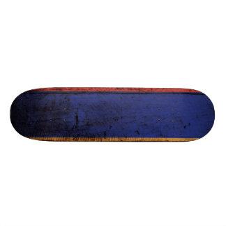 Armenia Flag on Old Wood Grain Skate Board Decks