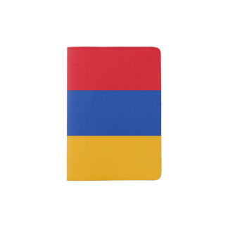 Armenia Flag Passport Holder