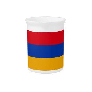 Armenia Flag Pitcher
