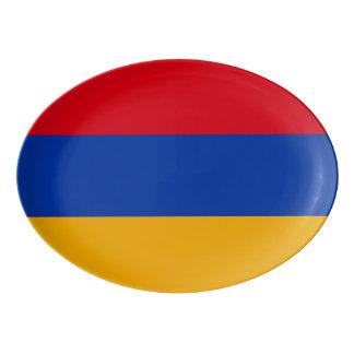 Armenia Flag Porcelain Serving Platter