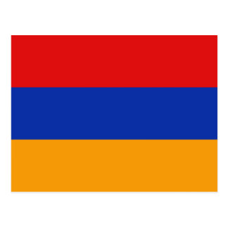 Armenia Flag Postcard