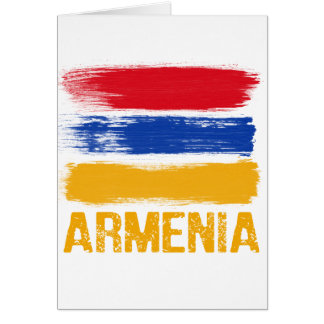 Armenia Flag shirts Card