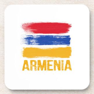 Armenia Flag shirts Coaster