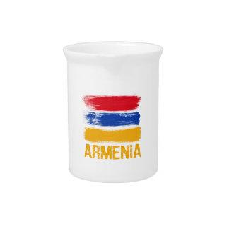 Armenia Flag shirts Pitcher