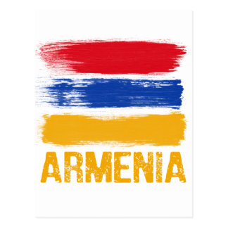 Armenia Flag shirts Postcard