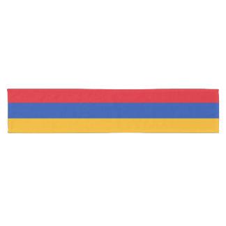 Armenia Flag Short Table Runner