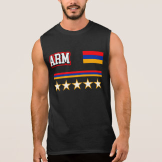 Armenia Flag Sleeveless Shirt