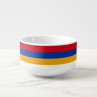 Armenia Flag Soup Bowl With Handle