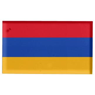 Armenia Flag Table Card Holder