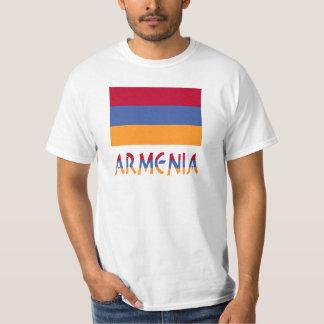 Armenia Flag & Word T-Shirt