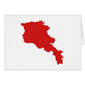 Armenia map card