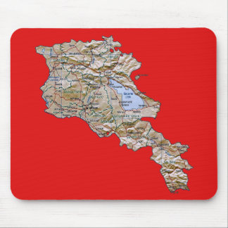 Armenia Map Mousepad