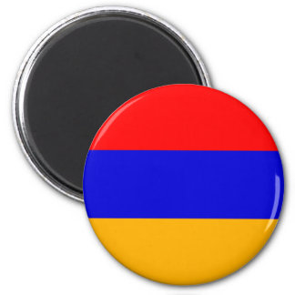 Armenia National Flag 2 Inch Round Magnet