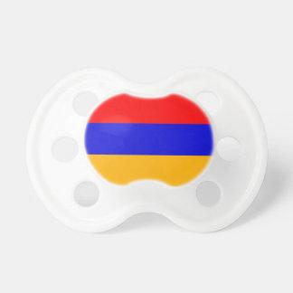 Armenia National Flag Pacifier