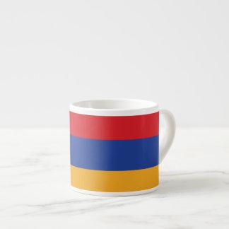 Armenia Plain Flag Espresso Cup