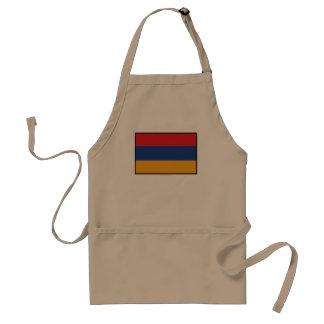 Armenia Plain Flag Standard Apron