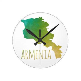 Armenia Round Clock