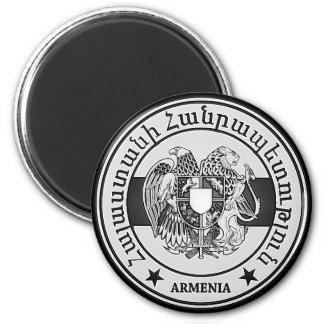 Armenia Round Emblem Magnet