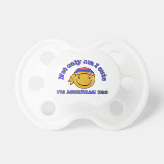 Armenia smiley flag designs pacifier