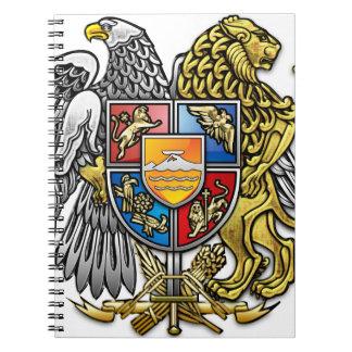 Armenia Spiral Note Book