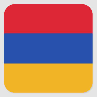 Armenia Square Sticker