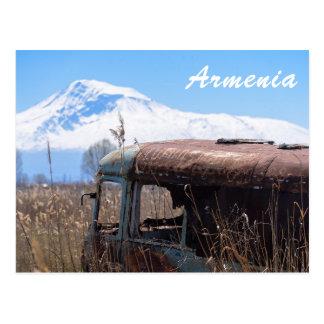 Armenia tourist postcard