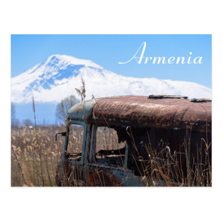 Armenia tourist postcard
