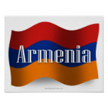 Armenia Waving Flag