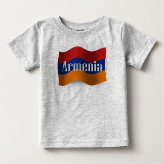 Armenia Waving Flag Baby T-Shirt