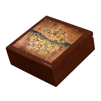Armenian Birds Alphabet Gift Box