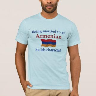 Armenian Builds Character T-Shirt