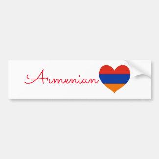 Armenian Bumper Sticker