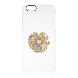 Armenian coat of arms clear iPhone 6/6S case