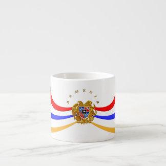 Armenian Coat of Arms Coffee  Հայաստանի զինանշանը Espresso Cup