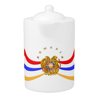 Armenian Coat of Arms Teapot  Հայաստանի զինանշանը