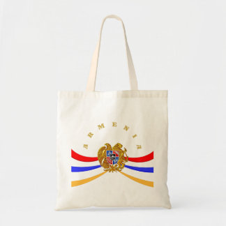 Armenian Coat of Arms Tote Back