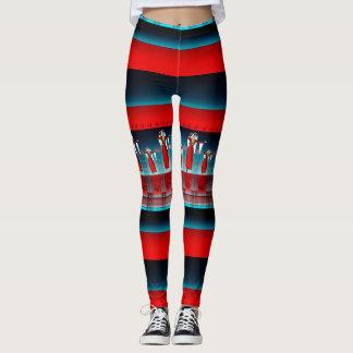 Armenian Dancer Red Leggings