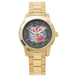 Armenian Eternity Unisex Gold Bracelet Watch