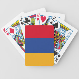 Armenian flag bicycle playing cards